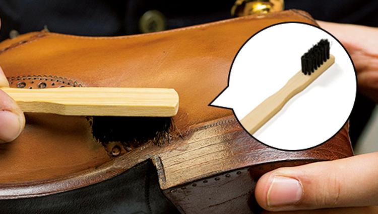 1個55円! 靴磨きの名脇役「コバブラシ」はこんなに便利だ【家庭の衣学】