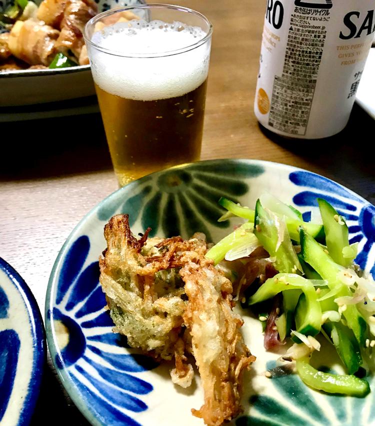 <p>7. お皿に盛ったら完成です。サクサクで、ビールにぴったりの一品です。</p>
