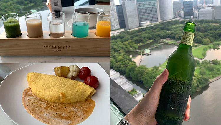 「メズム東京」名物の朝食からレイトチェックアウトまでを堪能【男のひとり旅・後編】