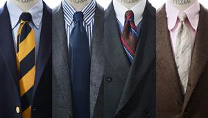 【秋の服50選】ネクタイ1本買い足すなら、こんなストライプを