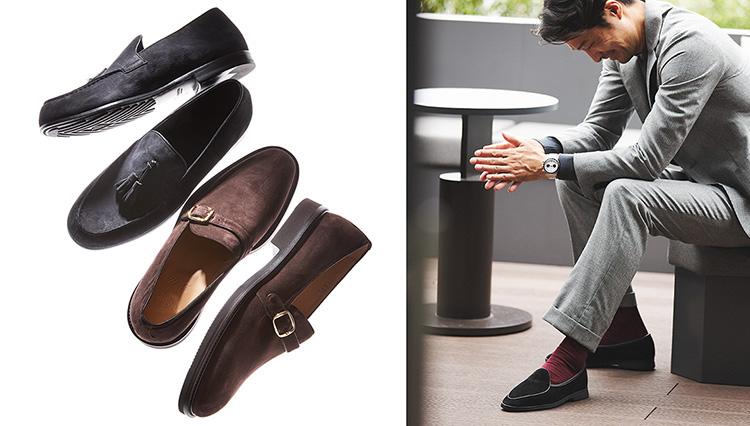 秋に靴を買い足すならば「スエードスリッポン」はいかが?