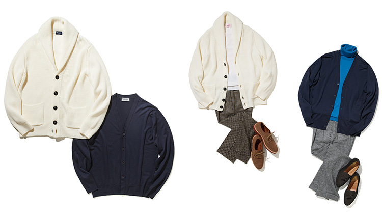【Nakamura's BASIC】ジャケット代わりにカーディガンが今、新しい!