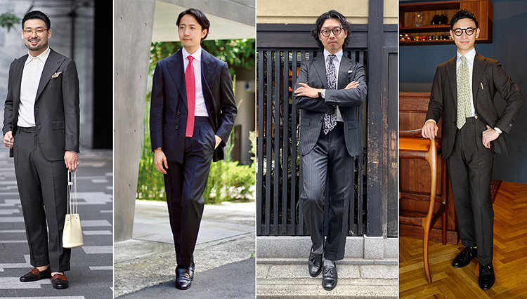 Suits You! of the month vol.3_4人のコーデ