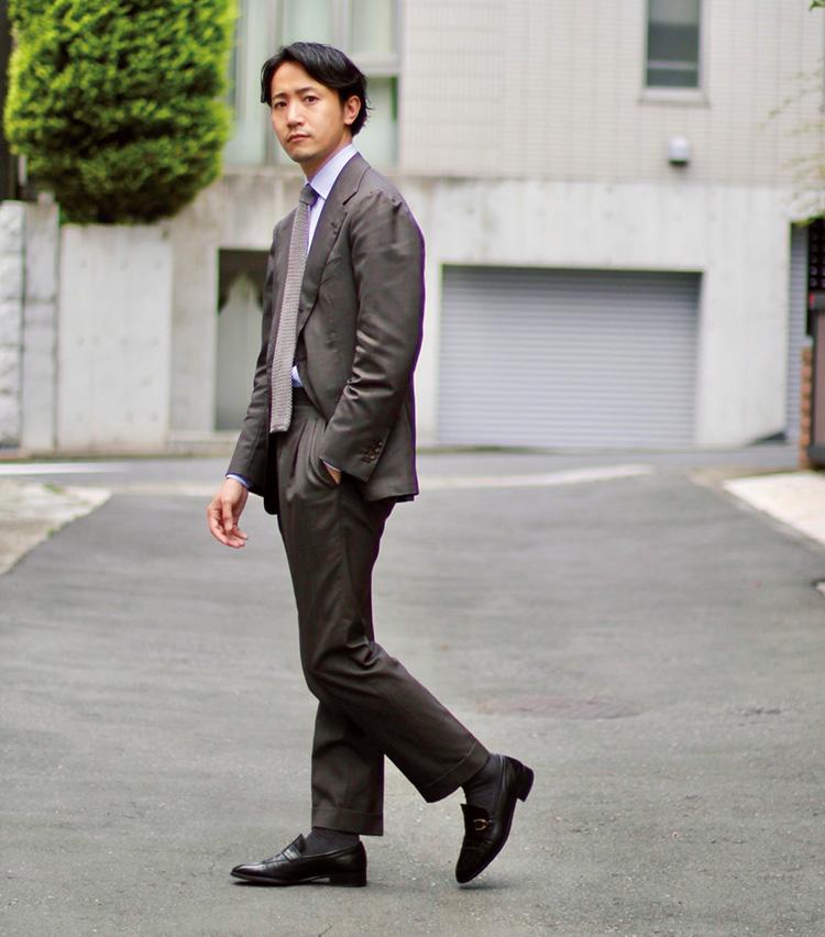 Suits You! of the month vol.3_森岡和也さん、メゾンブランドのヴィンテージ靴で遊ぶ