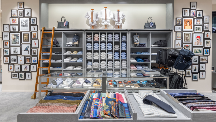 バーニーズ ニューヨーク国内初のコンセプトストアが西武渋谷店に誕生