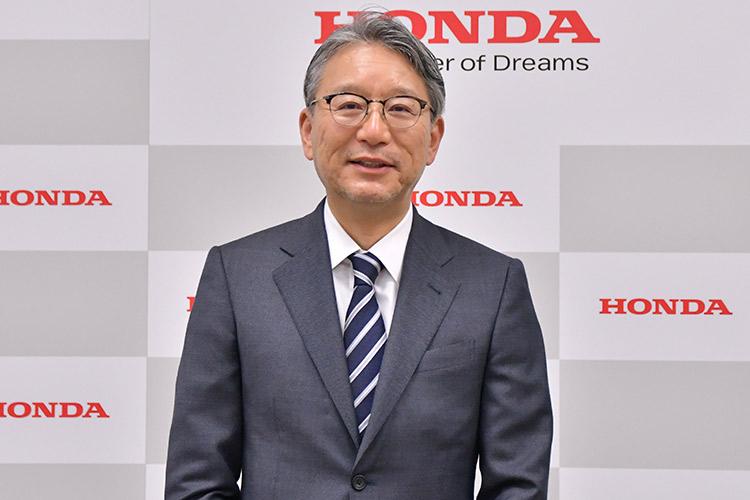 本田技研工業株式会社の取締役代表執行役社長に就任した三部 俊宏氏