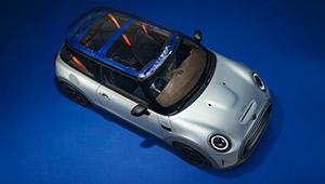 ポール・スミス流の電気自動車!「MINI ストリップ」が提示するサステイナビリティ