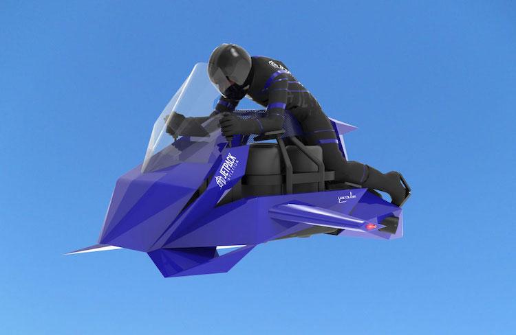 """フェラーリの予算で買える""""空飛ぶバイク""""、絶賛予約受付中"""