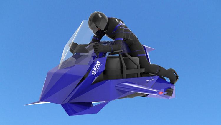 """フェラーリの予算で買える""""空飛ぶバイク""""、絶賛予約受付中!"""