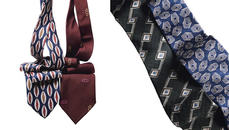 着用感も軽やかな「ヒラヒラのネクタイ」がお洒落な理由【すぐ買えるネクタイ4選】