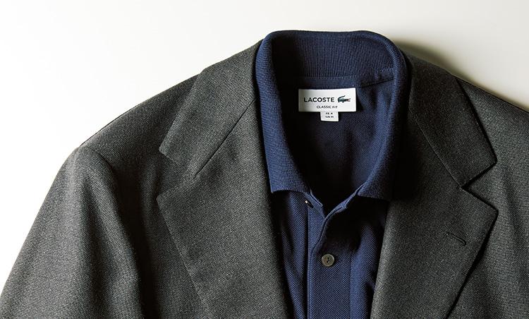 最高級スーツをポロシャツinで普段使いする チッチオ×ラコステ