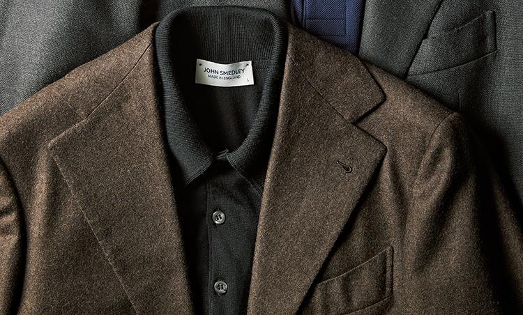 最高級スーツをポロシャツinで普段使いする サルトリア カヴート×ジョン スメドレー