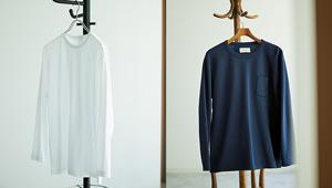 在宅ワークの仕事服に「上質の長袖Tシャツ」という選択肢はいかが?