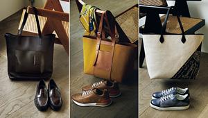 【メゾンブランドの靴と鞄】コンビトートに合わせる軽快シューズ3選