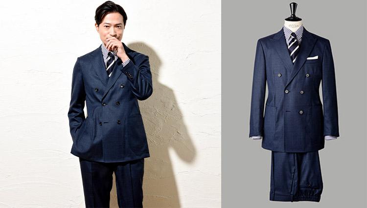 麻布テーラーのスーツで表現するエグゼクティブの品格【今、改めてSUITSの真価を問う】