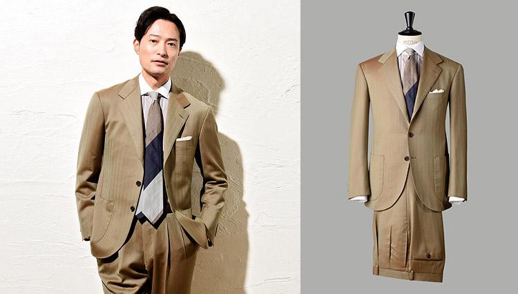 ヴィターレ・バルベリス・カノニコの生地で表現する洒脱なスーツスタイル【今、改めてSUITSの真価を問う】