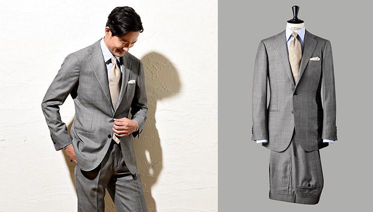 名門スキャバル生地で表現する優美なスーツスタイル【今、改めてSUITSの真価を問う】